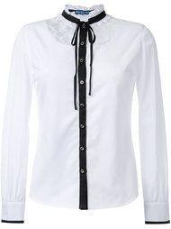 рубашка с кружевной вставкой Guild Prime