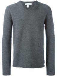 классический свитер с V-образным вырезом Comme Des Garçons Play