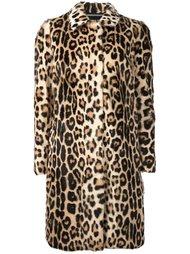 пальто с леопардовым рисунком Marco Bologna