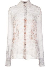 sheer marble effect blouse Sophie Theallet