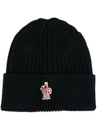 logo patch beanie Moncler Grenoble