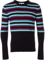 свитер с узором  Carven