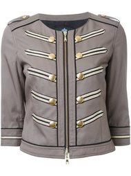 укороченная куртка в стиле милитари Guild Prime