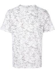 футболка со сплошным принтом Carven