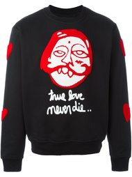 'true love' sweatshirt Haculla