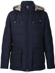 пальто-пуховик с капюшоном Brunello Cucinelli