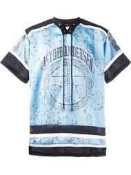 футболка в хоккейном стиле Astrid Andersen