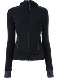 ribbed detail zip-up fleece Adidas By Stella Mccartney