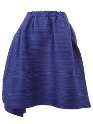 elasticated waist pleated skirt Pleats Please By Issey Miyake