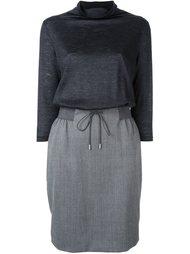 платье с воротником-хомутом Fabiana Filippi