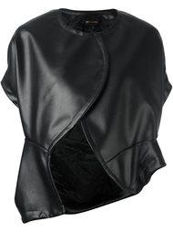 куртка с короткими рукавами и заклепками Comme Des Garçons