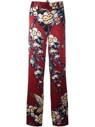 брюки с принтом 'Blossom' Dsquared2