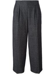 укороченные брюки прямого кроя Fabiana Filippi