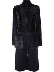 пальто на молнии Drome