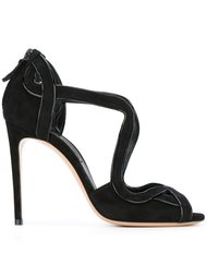 rear zip sandals Casadei