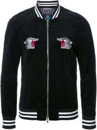embroidered back bomber jacket Guild Prime