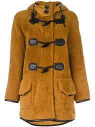 hooded coat Coach
