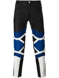 panelled biker trousers Les Hommes
