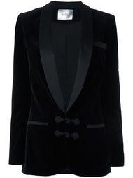 'Draco' velvet blazer Racil