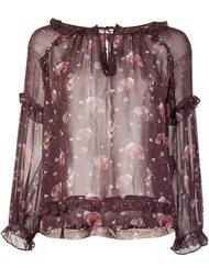 printed peasant blouse  Ulla Johnson