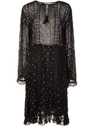 printed peasant dress Ulla Johnson