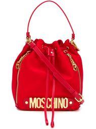 сумка-мешок с логотипом Moschino