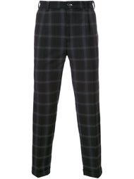 checked cropped trousers Guild Prime