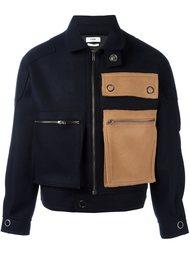 куртка-бомбер с накладным карманом Cmmn Swdn