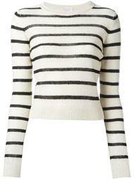 полосатый свитер с пайетками Brunello Cucinelli