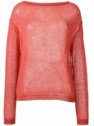 свитер свободной вязки Forte Forte