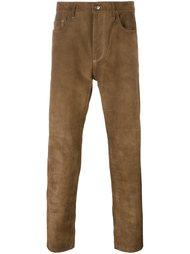 замшевые брюки Golden Goose Deluxe Brand