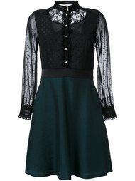 расклешенное платье-рубашка Loveless