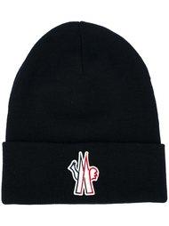 шапка с логотипом Moncler Grenoble