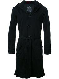belted hooded coat Loveless