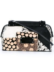 medium multi-pattern crossbody bag Jamin Puech
