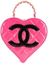 heart vanity case Chanel Vintage