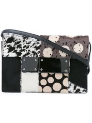 multi-pattern crossbody bag Jamin Puech