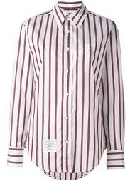 рубашка в полоску Thom Browne