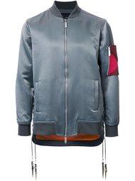 sleeve detail bomber jacket Yoshio Kubo