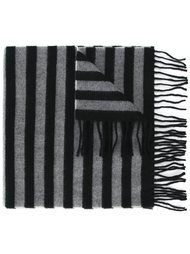 striped fringe scarf Saint Laurent