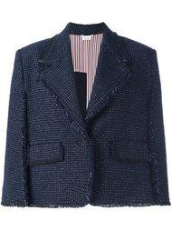 укороченная куртка в стиле накидки Thom Browne