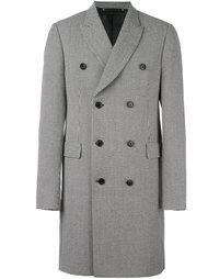 пальто с узором в ломаную клетку Paul Smith