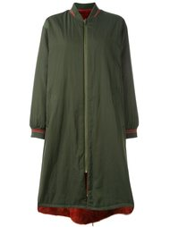 reversible coat Army Yves Salomon