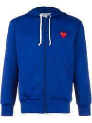 zip up hoodie Comme Des Garçons Play