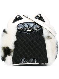 'kitty' motif crossbody bag Jamin Puech