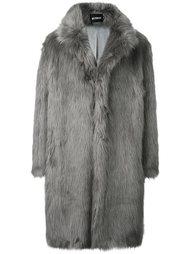 fur effect coat Misbhv