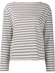striped longlseeved T-shirt Wood Wood