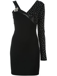 studded one-shoulder dress Versus