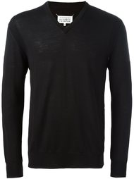 v-neck jumper Cerruti 1881