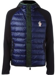 hooded buttoned jacket Moncler Grenoble